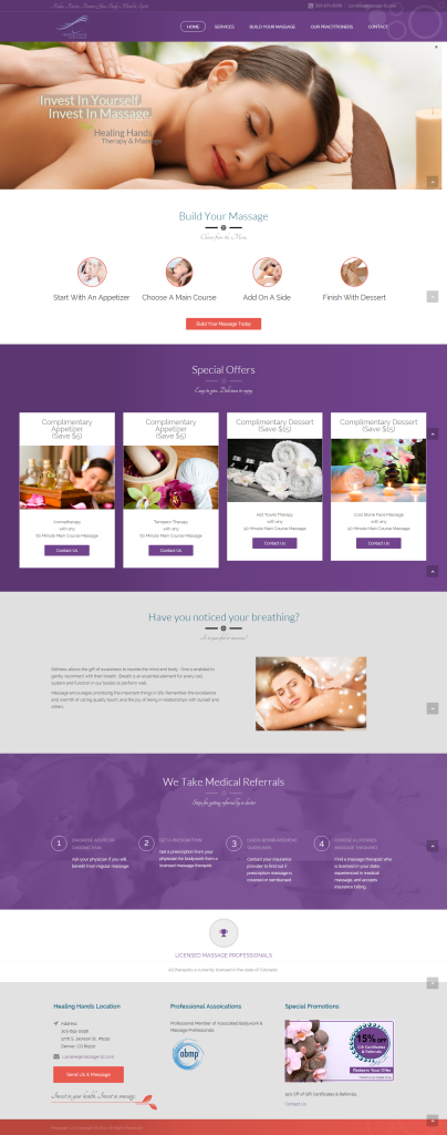 Massage LLC site